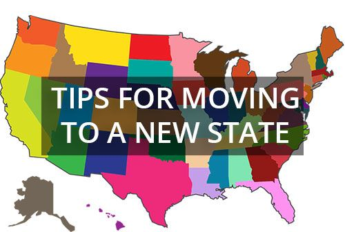 Tips for moving to a new state from CO
