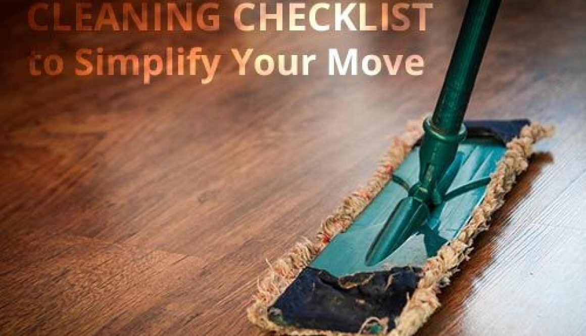Moving Cleaning Checklist
