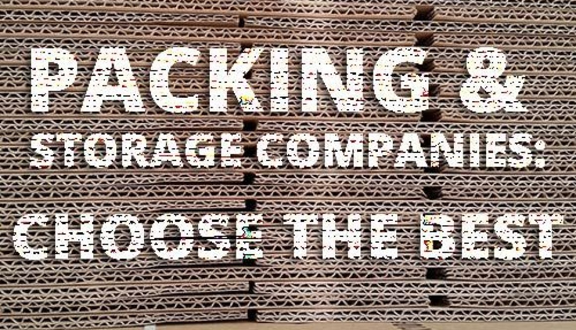 Packing and storage companies in Colorado for your Move