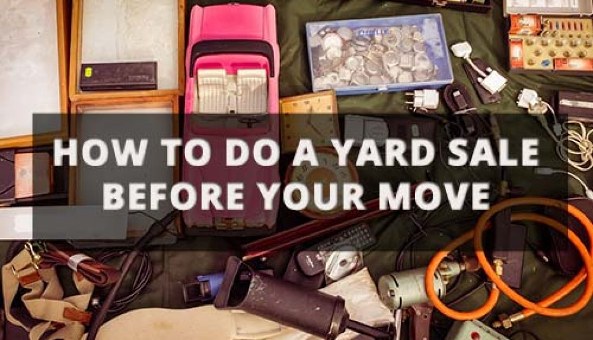 How to Do a Yard Sale