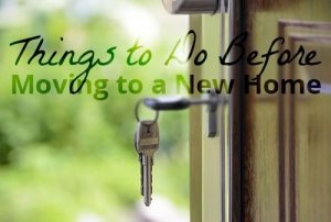 Things to Do Before Moving Out