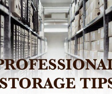 Professional Storage Tips
